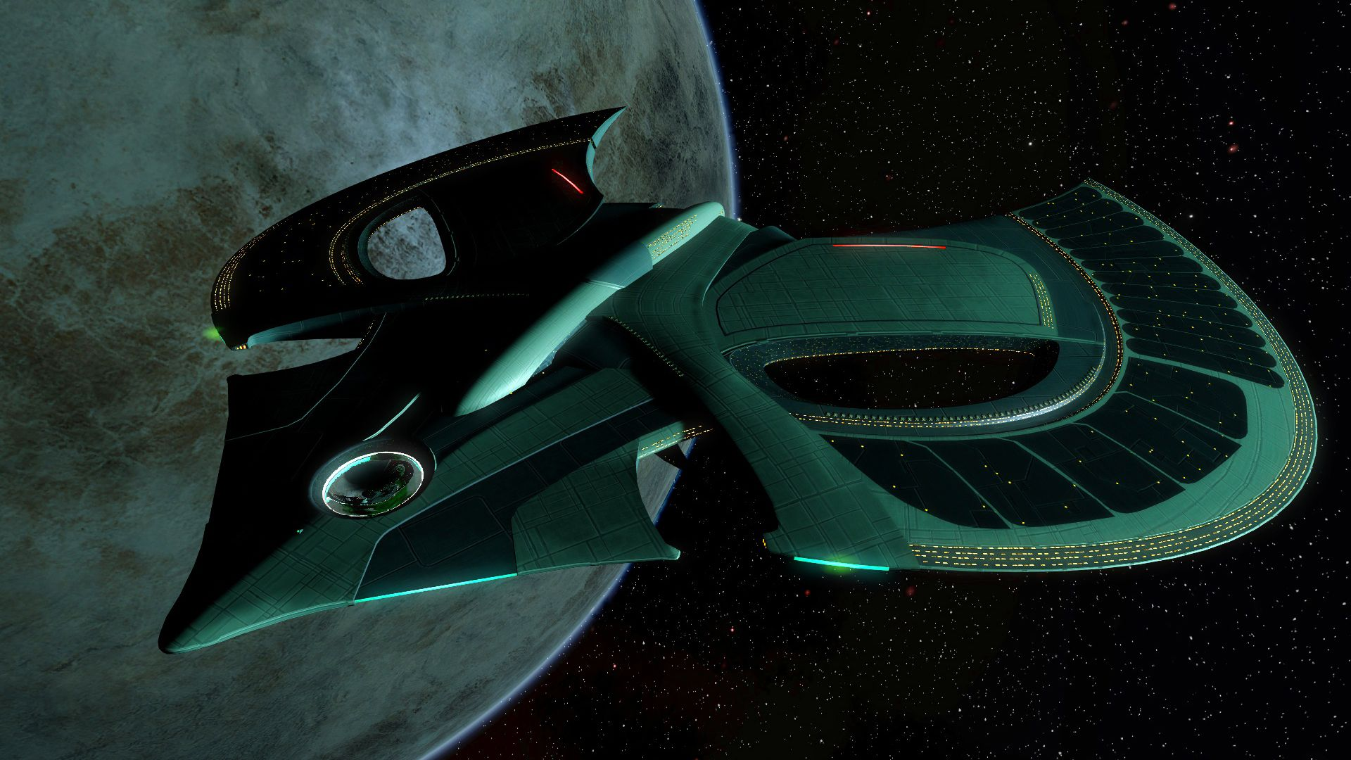 Romulan 26th Century Dreadnought