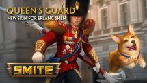 SMITE Queen's Guard Erlang Shen Skin Preview