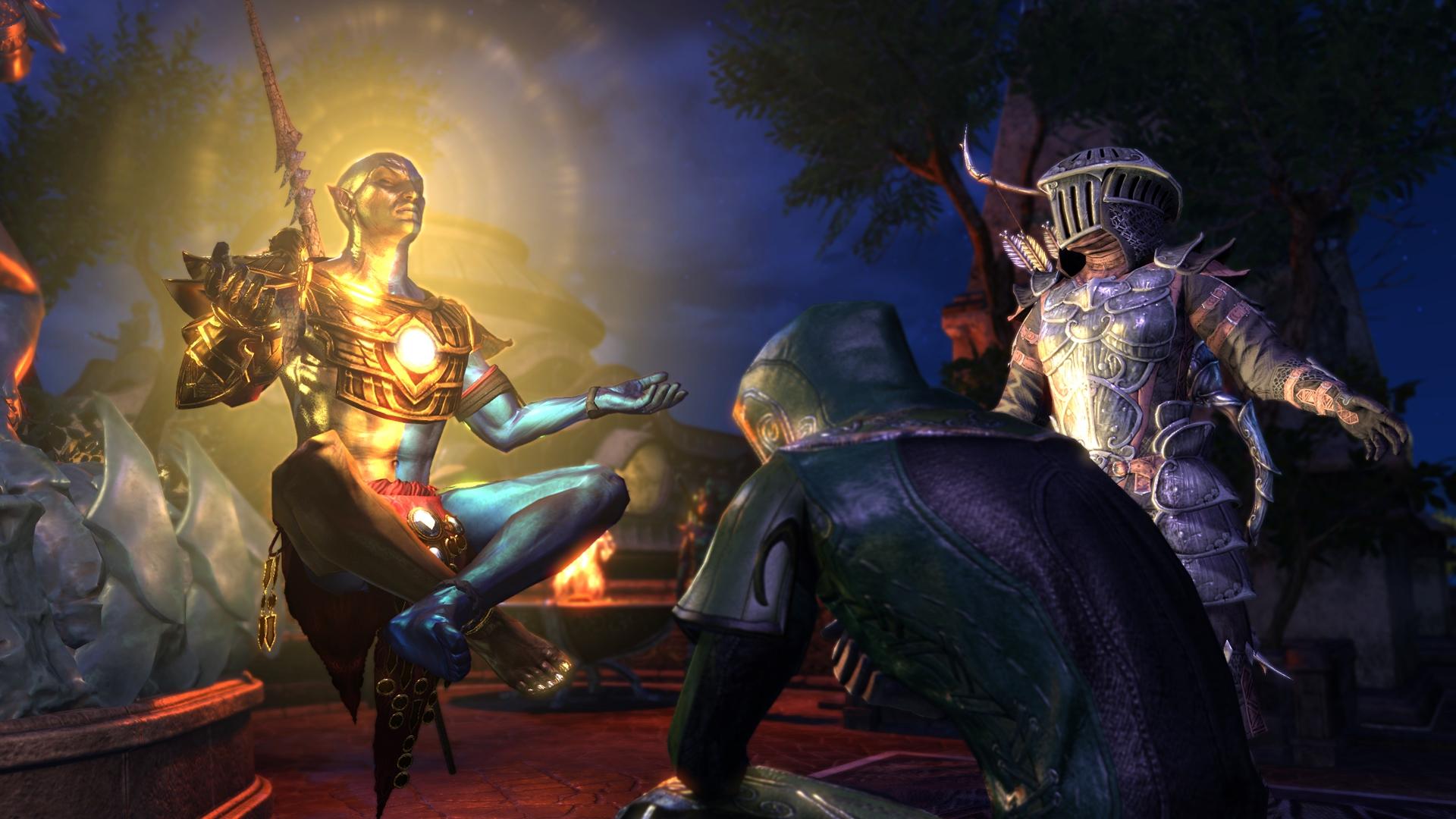 Elder Scrolls Online - Vivec Screenshot