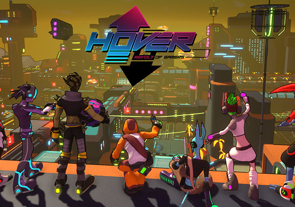 Hover Revolt of Gamers Game Profile Banner