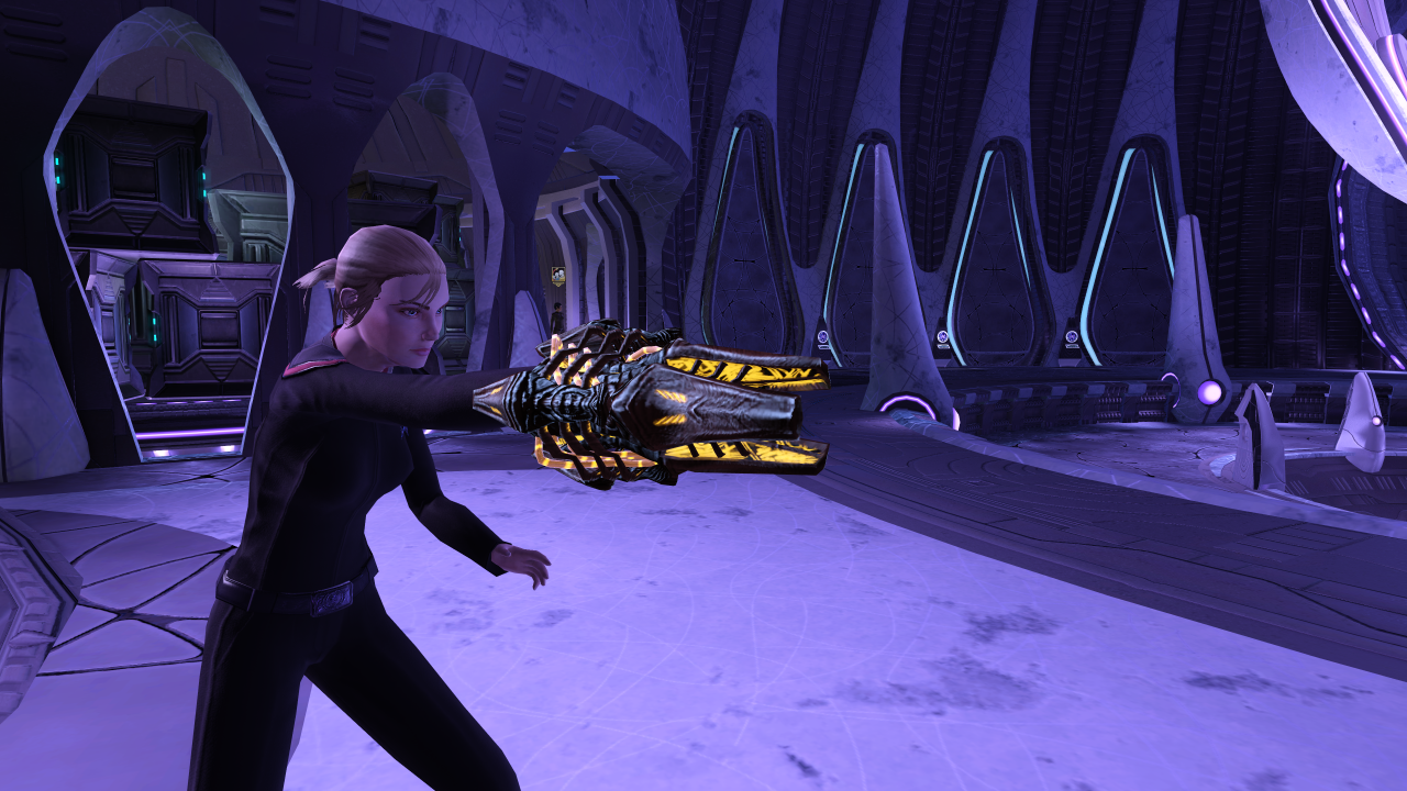 Star Trek Online Xbox One Fluidic Antiproton Wrist Lance Screenshot