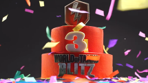 World of Tanks Blitz Third Anniversary Trailer Thumbnail