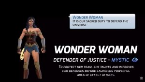 DC Legends_ Wonder Woman - Defender Of Justice Hero Spotlight - YouTube