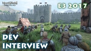 Darren (DizzyPW) takes a moment to talk with Frank Elliot about Mount and Blade II: Bannerlord.