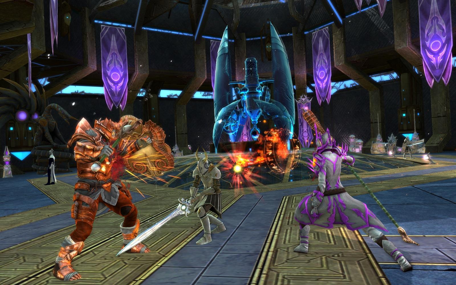 RIFT 4.2 Auxla Swordsman Battle Screenshot
