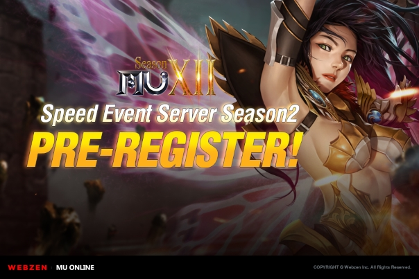MU Online's Speed Event Server Season 2 Coming on July 11th News Header