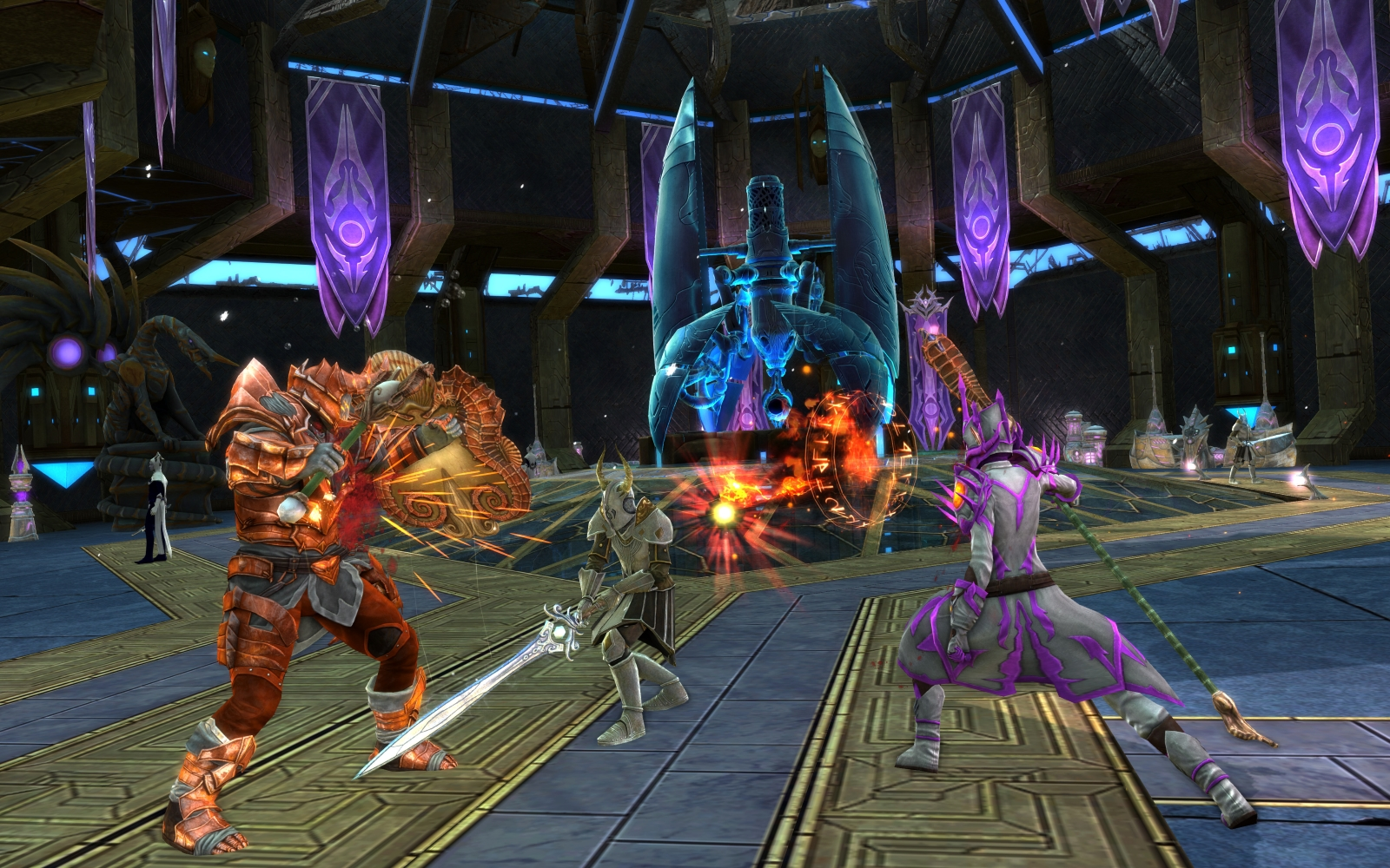 RIFT 4.2 Auxla Swordsman Battle Screenshot