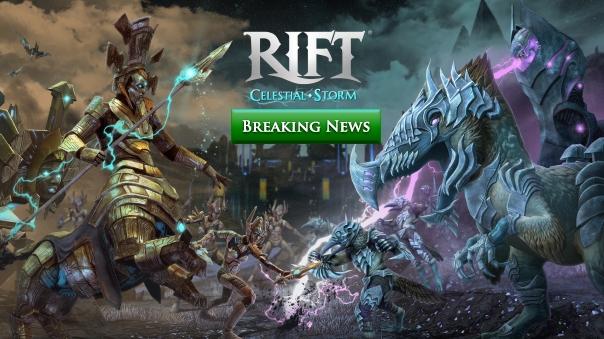 RIFT 4.2 Update Preview: Celestial Storm Header Image