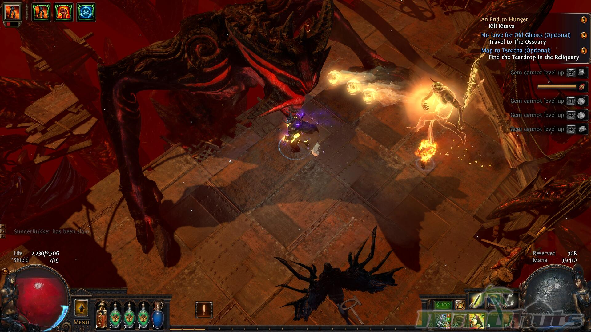 Path of Exile: The Fall of Oriath Review Screenshot