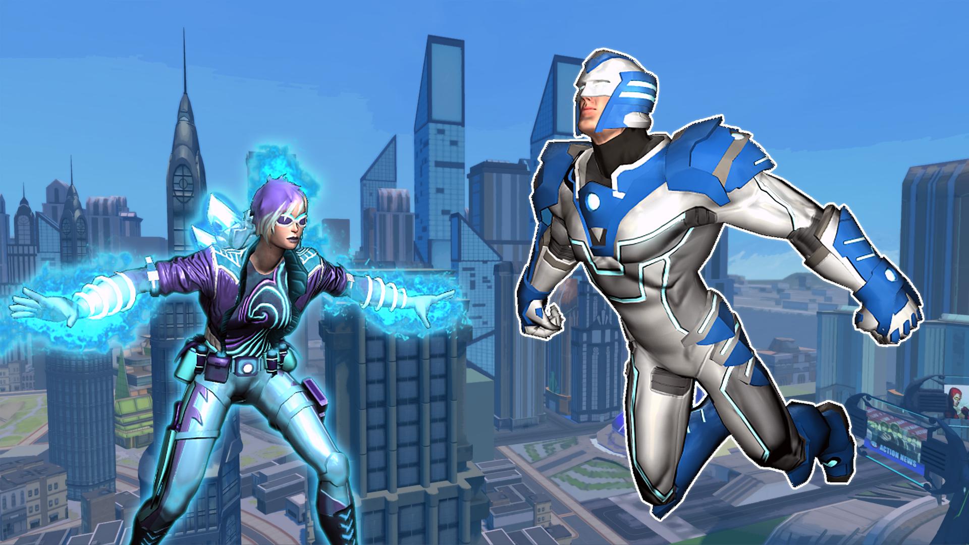 Champions Online 8th Anniversary Pack Raffle Screenshot