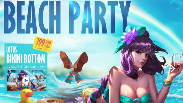 Heroes Evolved - Beach Party - Main Image