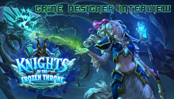 Knights of the Frozen Throne Game Designer Interview Header Image