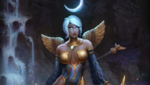 SMITE Midnight Dove Awilix Skin Preview Video Thumbnail