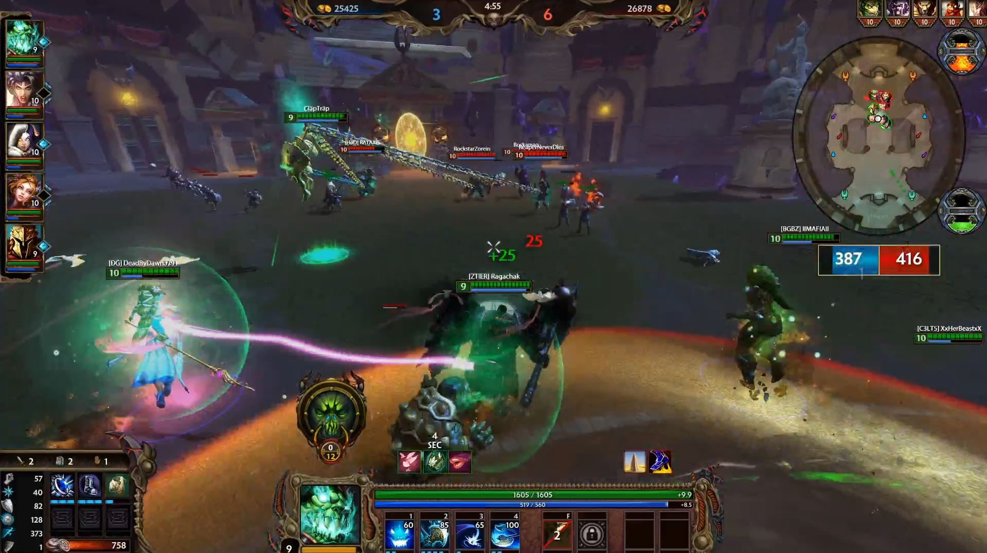 SMITE: Corrupted Arena Impressions