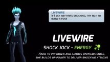 DC Legends_ LiveWire - Shock Jock Hero Spotlight - Video Thumbnails