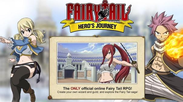 Fairy Tail_ Hero's Journey - Main Image