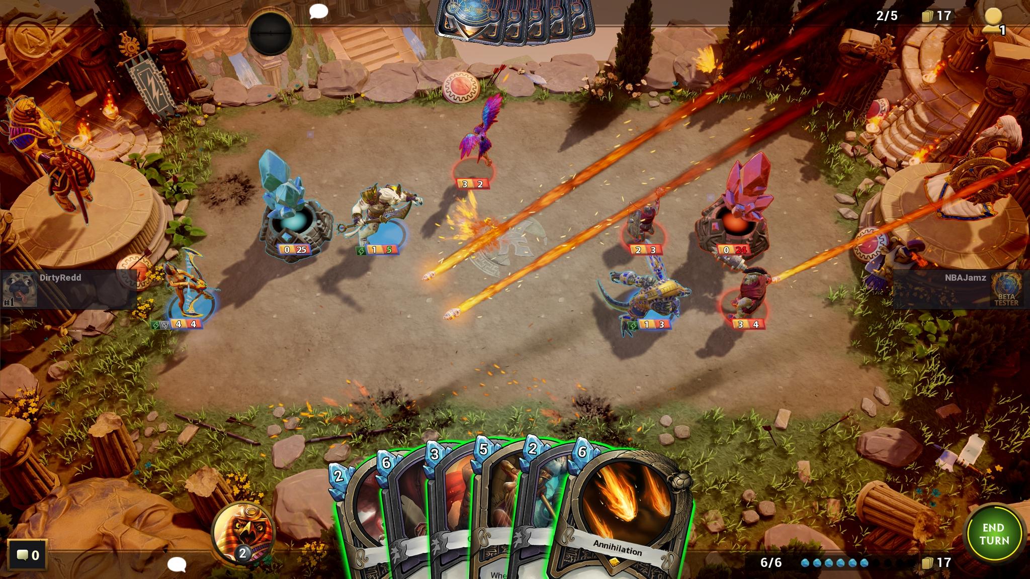 Hand of the Gods Annihilation Screenshot