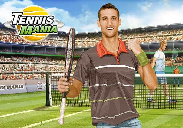 Tennis Mania Game Profile Image