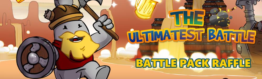 Ultimatest Battle Raffle MMOHuts Raffle Banner