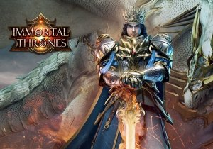 Immortal Thrones Game Profile Banner