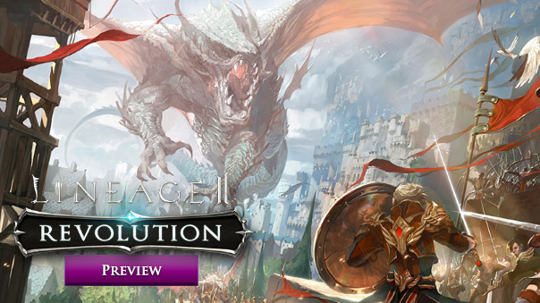 Lineage 2 Revolution First Impressions Header