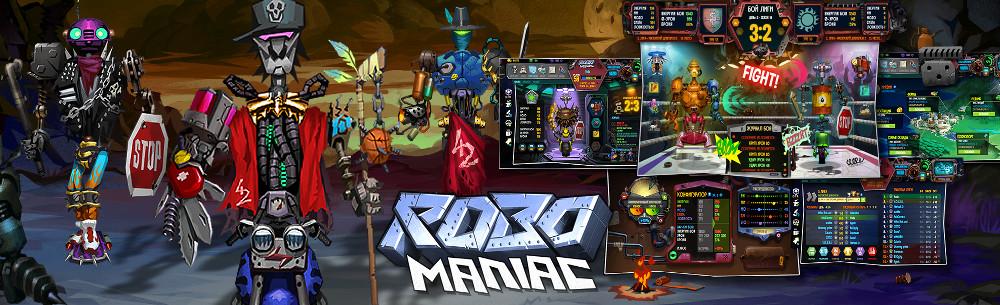 RoboManiac Platinum Giveaway Wide Banner