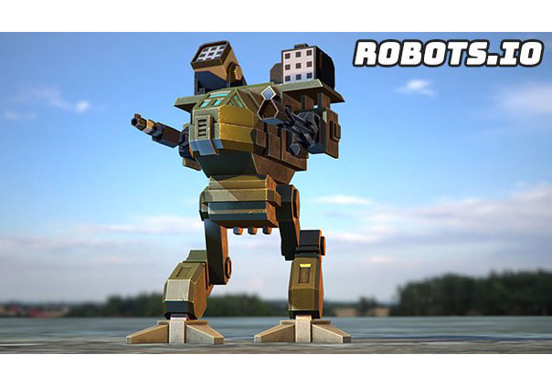 Robots.io Game Profile Banner