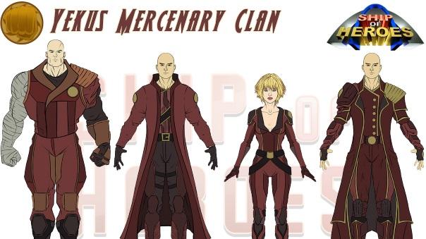 Ship of Heroes - Yakus Clan - Main Image
