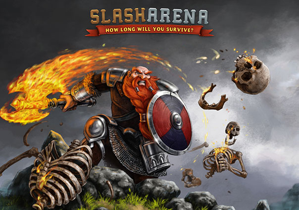Slash Arena Game Profile Banner