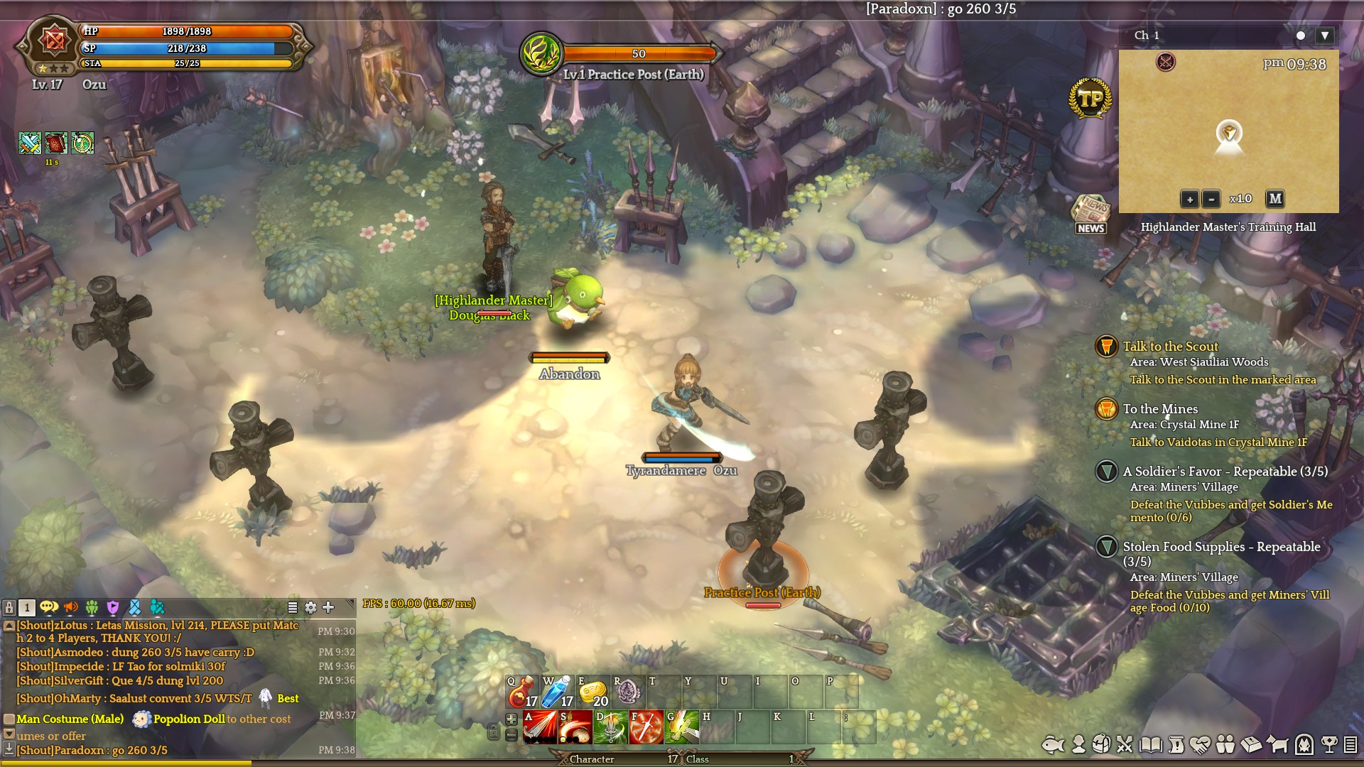 Adventurer's Journal 1 - Tree of Savior