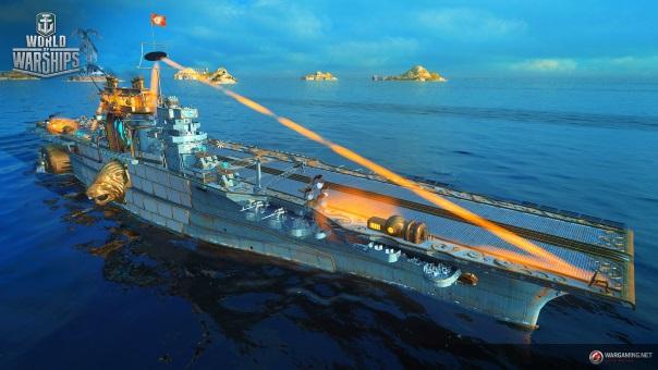 World of Warships Halloween Event - Main Image