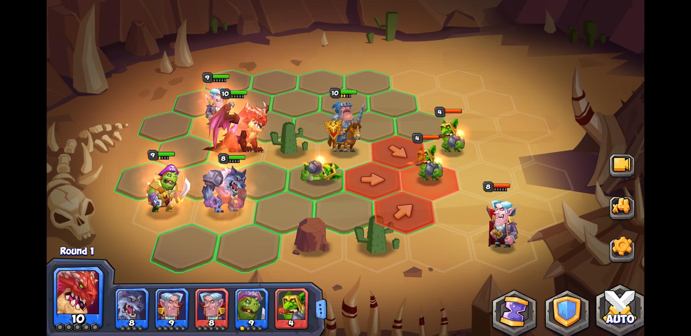 Tactical Monsters Rumble Arena Screenshot