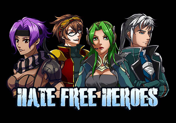 Hate Free Heroes Game Profile Banner
