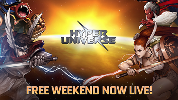 Hyper Universe - Free Weekend NEws