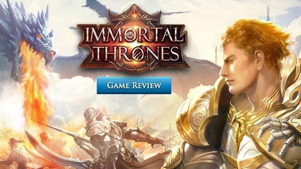 Immortal Thrones Review Header