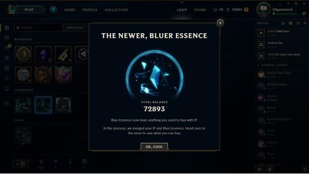 League of Legends - Blue Essence OP-ED