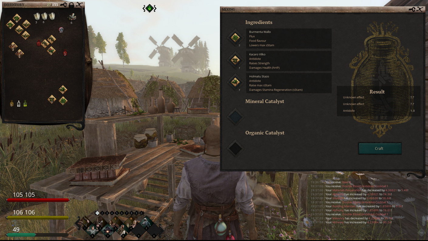 Life is Feudal MMO Alchemy Screenshot