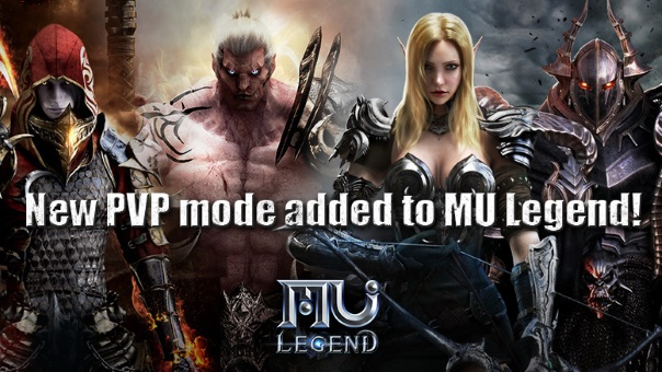 MU_Legend_OBT - PVP Update Main Image