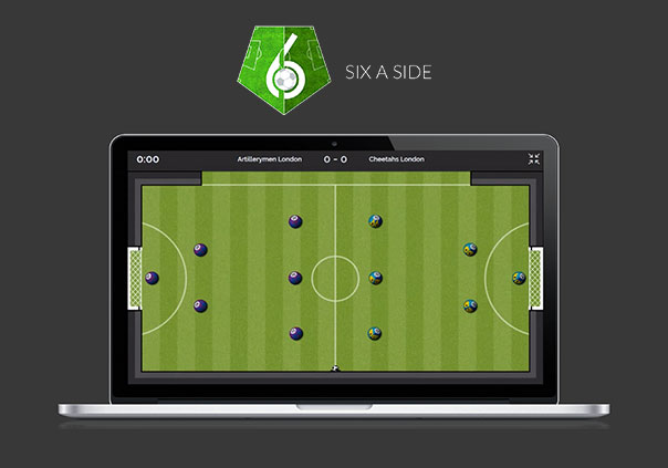 six-a-side Game Profile Banner