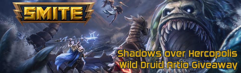 SMITE Wild Druid Artio Giveaway Wide Banner