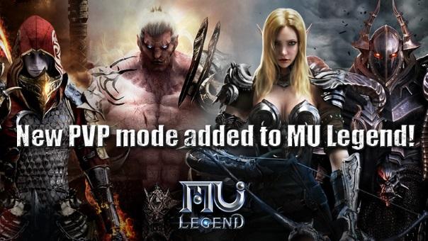 MU_Legend_OBT - PVP Update Main Image