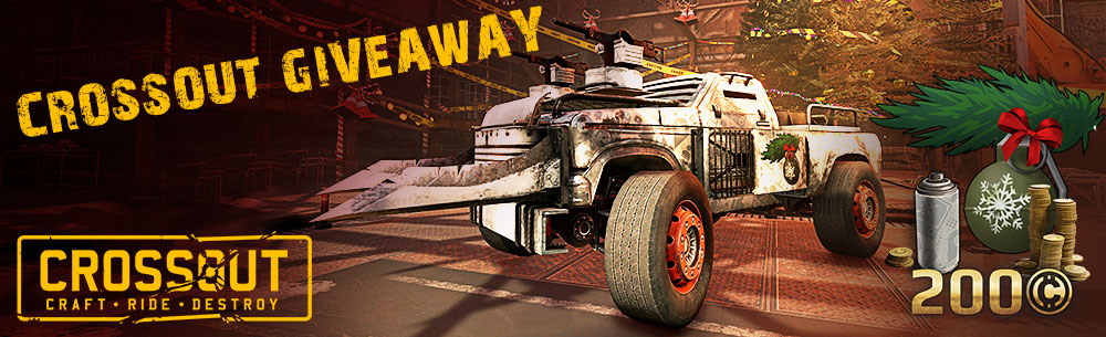 Crossout Xmas Giveaway Wide Banner