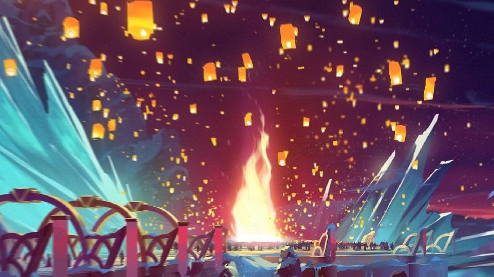 Duelyst -Frostfire_Festival - Main Image
