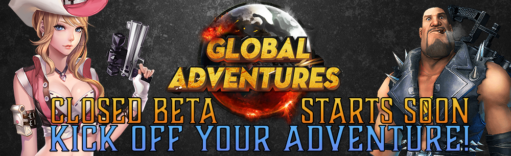 Global Adventures Closed Beta Key Wide Banner