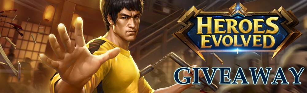 Heroes Evolved Dec17 Giveaway Wide Banner