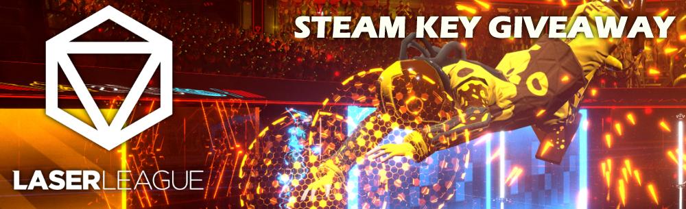 Laser League Steam Key Giveaway Wide Banner