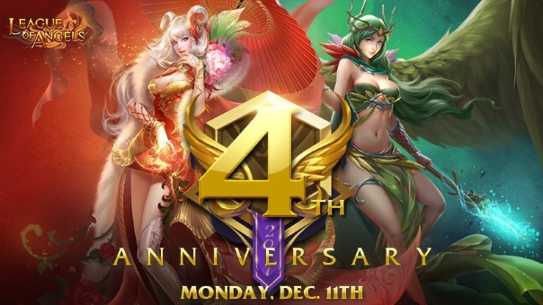 League of Angels 4th Anniversary - Main Image