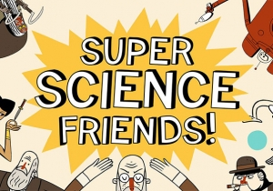 Super Science Friends Game Main Image