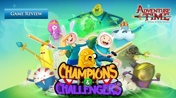 Champions and Challengers - Adventure Time Review Header