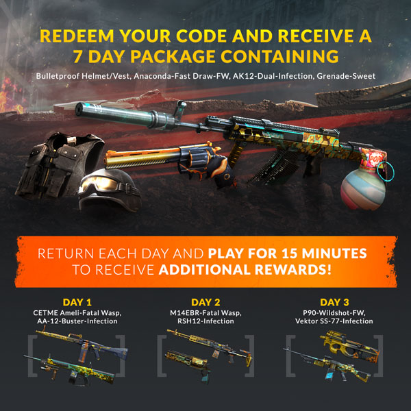 Crossfire Weapon Package Giveaway